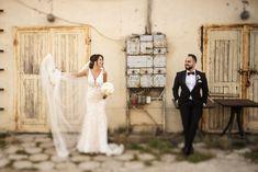 #industrial #industrialwedding #weddingoutdoorsession #weddingsession #bridegroom