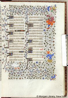 Book of Hours, MS M.1004 fol. 29r - Images from Medieval and Renaissance Manuscripts - The Morgan Library & Museum