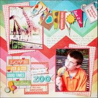 A Project by Madeline from our Scrapbooking Gallery originally submitted 07/15/13 at 10:56 AM