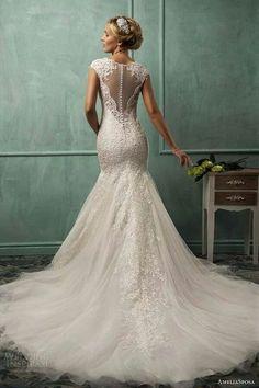 #wedding #dress mermaid wedding dresses Falling In Love With This Silhouette!!! http://www.wedding-dressuk.co.uk