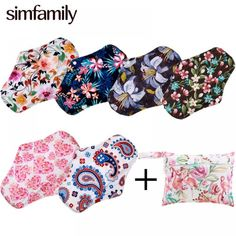[simfamily] 6+2 Including 6Pcs Reusable Waterproof Regular Flow Menstrual Pads+2Pcs Mini Wet Bag Bamboo Charcoal Material Pads Price: 44.84 & FREE Shipping #staysafe #practicesafetyguidlines #fashion|#sport|#tech|#lifestyle