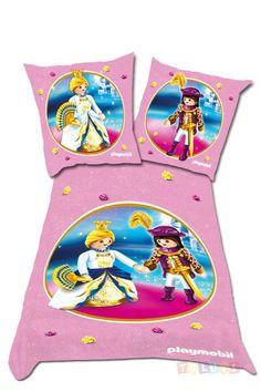 Parure de lit Playmobil La Princesse | http://www.toluki.com/prod.php?id=540 #Toluki #enfant #chambre