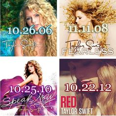 I'll miss the old Taylor Swift font. . . but im SO EXCITED for Red to come out! :)