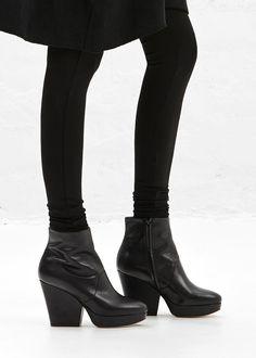 Maison Martin Margiela Tall Ankle Wedge Boot