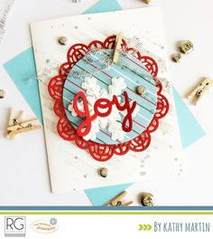 Joy by Kathy Martin for Journey Blooms using Fun Stampers Journey stamps, dies and supplies.
