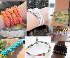 différents bracelets diy