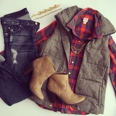 Boots and shirt