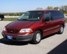 Cheap Ford Windstar Cargo Van '00 For Sale in Iowa — $2499