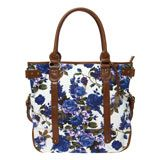 Large Patterned Tote Bag Pretty Flowers, London Fashion, Trends, Handbags, Tote Bag, Beautiful Flowers, Totes, Purse, Hand Bags