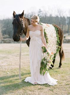 When I get married I'm going to ride down the aisle on my horse not walk!