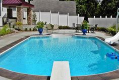 Low maintenance backyard on pinterest landscaping ideas for Low maintenance pool landscaping