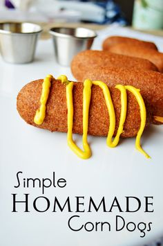 Simple Homemade Corn Dogs by The Modern Dad