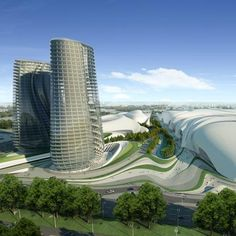 Zaha Hadid Architects have won a competition to design Cairo Expo City in Cairo, Egypt.