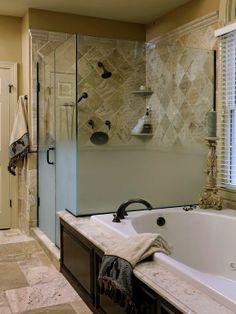 Bathroom Remodeling Highlands Ranch Co tile around bath tubs | bathroom tile ideas - travertine tub