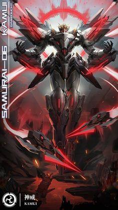 Robot Concept Art, Armor Concept, Weapon Concept Art, Robot Art, Arte Gundam, Gundam Art, Mecha Anime, Fantasy Armor, Dark Fantasy Art