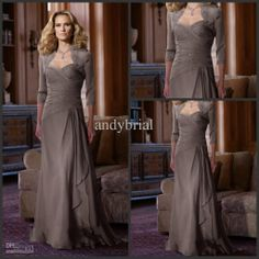 3c5ef4eb6c Wholesale Top Selling Supreme Sweetheart Sexy Mother of The Bride Dresses  3 4 Sleeves Bead