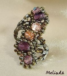 beaded ring 2013 by Melinda