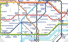 Transport for London has released its first official 'walk the Tube' map