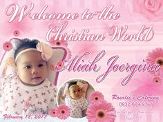Sample Tarpaulin Design Template for Christening Hello there dear followers and readers all over the world. Welcome t... Creative Invitation Design, Invitation Layout, Pink Invitations, Printable Invitations, Wedding Invitations, Christening Invitations Girl, Girl Christening, Birthday Tarpaulin Design, Hello Kitty Wedding