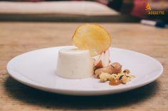 Peaches, pannacotta & thyme (Chef Emma Ackerman - London)