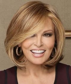 medium hairstyles for women over 50 thick hair - Google Search