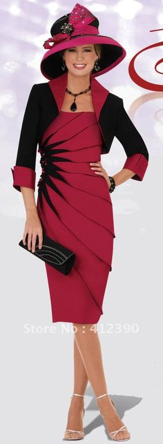 Free shipping New style burgundy satin straight knee length mother of the bride dress/mother dress ECMO 168-in Mother of the Bride Dresses from Apparel & Accessories on Aliexpress.com