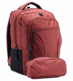 Lavie Ipack 3 Laptop Backpack - Red