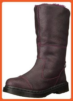 Dr. Martens Women's Pasha Rigger Calf Boot,Purple,3 UK/5 M US - Slippers for women (*Amazon Partner-Link)