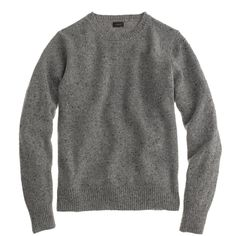 J.Crew Donegal sweater   $88   gifts for guys   mens sweater   mens style   mens fashion   menswear   wantering http://www.wantering.com/mens-clothing-item/donegal-sweater/aeusE/