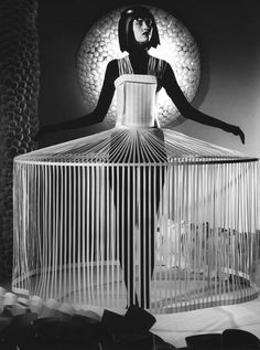 futuristic avant garde couture paper fashion by jum nakao - originally pinned… Paper Fashion, Fashion Art, Fashion Show, Artist Fashion, Dress Fashion, High Fashion, Style Fashion, Fashion Women, Fashion Outfits