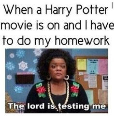 Harry Potter Fans // Potterheads // Homework // Humor