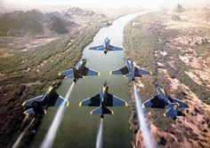 The fabulous Blue Angels
