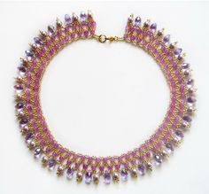 Free pattern for necklace Vilma   Beads Magic