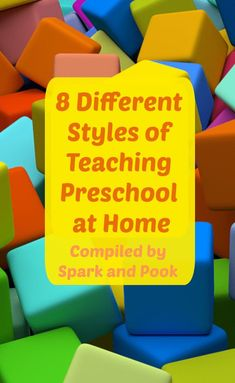 8 styles of preschool Learning Time, Toddler Learning, Preschool Learning, Teaching, Preschool Routine, Preschool At Home, Multiplication For Kids, Preschool Printables, Home Schooling