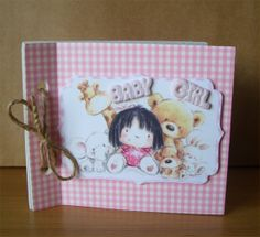 Pink Gingham Baby Girl Brag Book by AuntyJoanCrafts on Etsy, £2.50