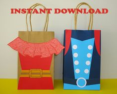 PRINTABLE-->> Princess Elena of Avalor Birthday Party Favor Bags/ Favors/ Goody/ Goodie/ Candy/ Treat/ Loot Bags/ Bag/ Decoration/ Supplies by CreativePartyStudio on Etsy https://www.etsy.com/listing/473613538/printable-princess-elena-of-avalor