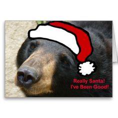 Santa I've been good! Greeting Card