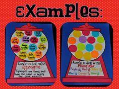 bubble gum machine - fractions... pattern... multi-use