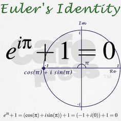 Euler's Identity. Like what? I can't even.