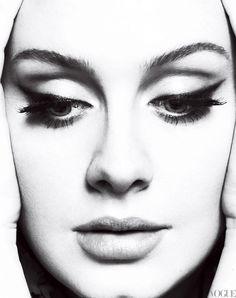 Adele (check that eye-makeup...)