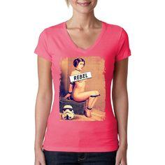 """Aus der Reihe: """"Prinzessinen Privat"""" kommt hier ein heißes neues Shirt Motiv für alle Sternenkrieger. Hol dir diesen sexy Print für dein T-Shirt, Sweatshirt oder V-Neck."""