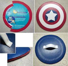 DIY Captain America Shield & Costume & Thor Costume