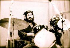 John Bonham in studio