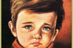 'Ağlayan Çocuk' Tablosu Gerçekten Lanetli Mi? Cool Magazine, Hoop Earrings, Art, Earrings
