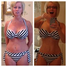 """Body by Vi Before and After - Check Out this Amazing Transformation from a Mother of 4 Kids: Mysti Dodson-Wehrum lost 7 pounds, 5 inches, and 3% body fat.    For all the people who want to lose Some weight, tone up, gain LEAN muscle, look at Mysti Wehrum. People say """"I only need to lose 10 lbs... """" take a look at what a SEVEN pound loss looks like. Congratulations to Mysti, mom of 4!! For More Body by Vi Transformations, Follow the Link: http://ebodybyvi.com/transformations/"""