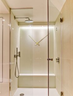 slick and modern shower