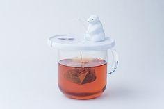 Shirokuma – Ein angelnder Eisbär als Teebeutelhalter