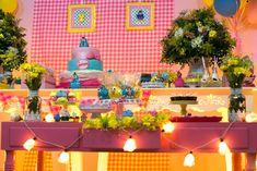 Galinha Pintadinha Rosa By Ariane Fernandes Decor – Blog Inspire sua Festa