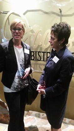 Michelle S. Royal from RIDG speaking with Maryann Ferenc at the  Tampa Bay Business Journal network event about #HelpingOurCity! https://www.facebook.com/Elevateinc/videos/1101993436552193/