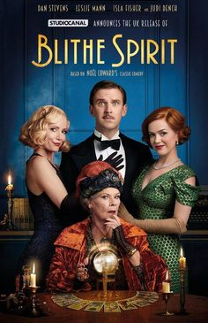 Watch Dan Stevens, Leslie Mann, Isla Fisher and Judi Dench in the trailer for Blithe Spirit Movie To Watch List, Tv Series To Watch, Good Movies To Watch, Great Movies, Movies Free, Movie List, Leslie Mann, Films Hd, Films Cinema